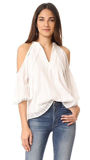 Maven West Cold Shoulder Top