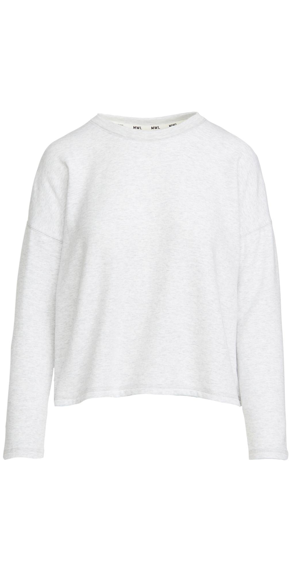 Heathered Perfect Crew Sweatshirt