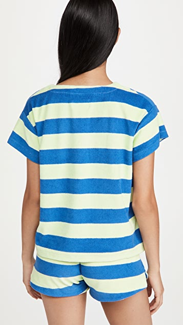 MWL by Madewell MWL Retroterry V-Neck Pocket Top