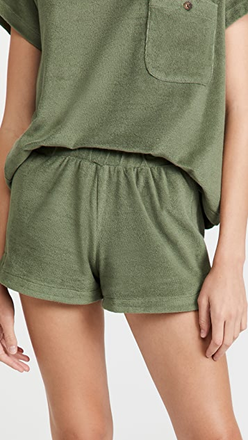 MWL by Madewell Towel Terry Shorts
