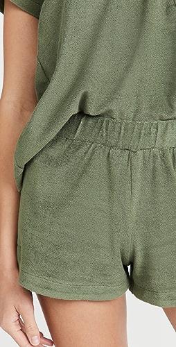 MWL by Madewell - 毛圈布短裤