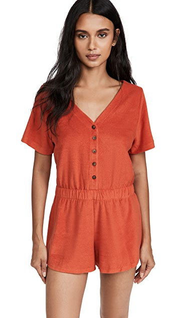 MWL by Madewell Towel Terry Romper
