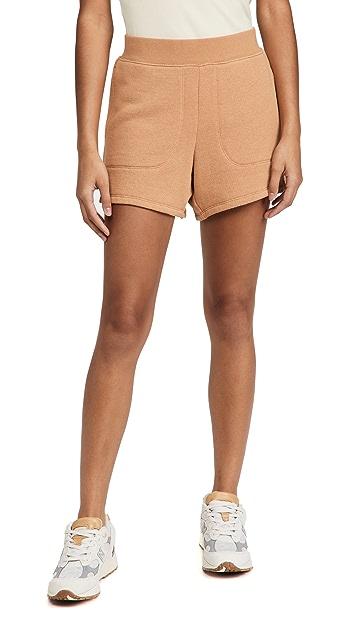 MWL by Madewell MWL Airyterry 缝线口袋运动短裤