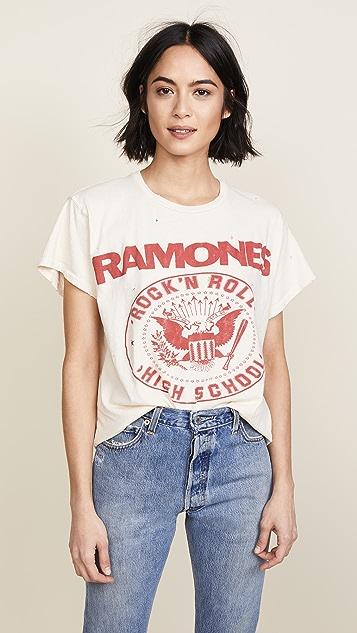 MADEWORN ROCK Ramones 1979 Rock Printed Tee