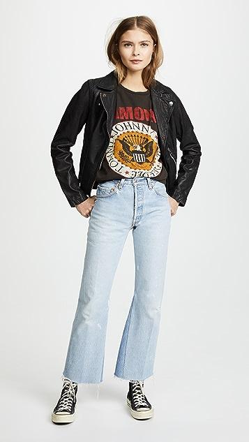 MADEWORN ROCK Ramones1979 印花 T 恤
