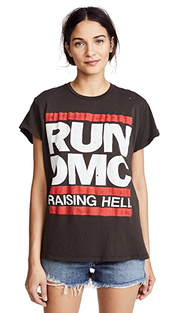 MADEWORN ROCK Футболка Run DMC Raising Hell