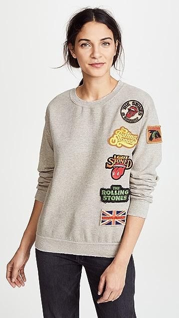 MADEWORN ROCK Rolling Stones 1978 Sweatshirt