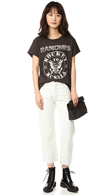MADEWORN ROCK Ramones Rocket To Russia Tee