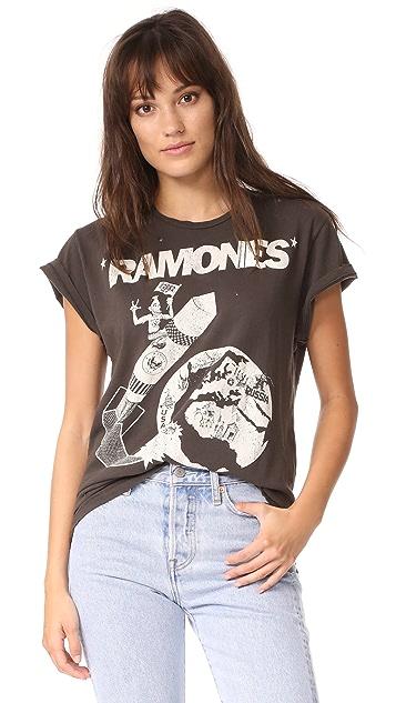 MADEWORN ROCK Ramones Crew Tee