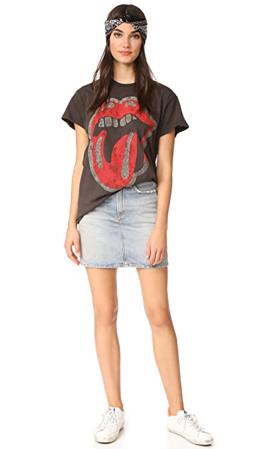 MADEWORN ROCK Perforated Rolling Stones Tee