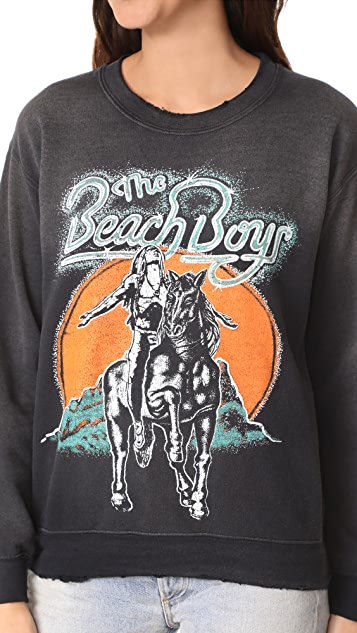MADEWORN ROCK Beach Boys Sweatshirt