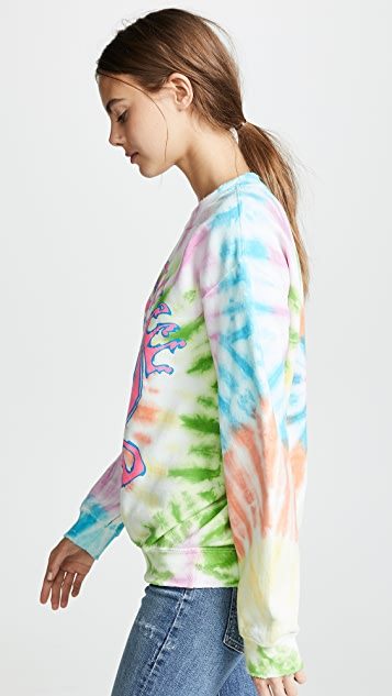 MADEWORN ROCK Grateful Dead Tie Dye Sweatshirt