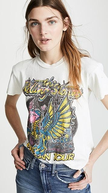 MADEWORN ROCK Футболка с логотипом Rolling Stones