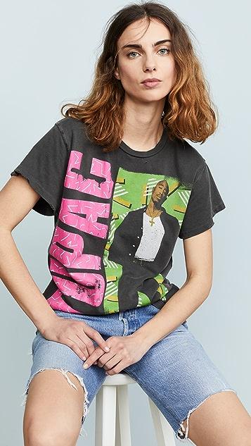 MADEWORN ROCK Tupac T 恤