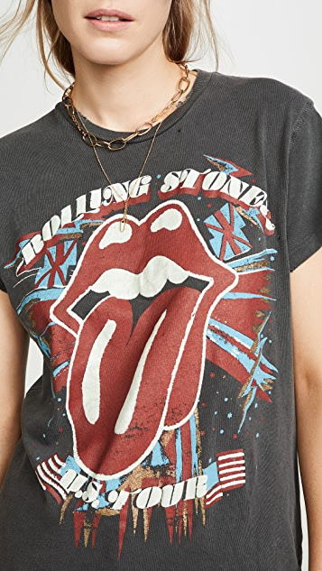 MADEWORN ROCK Rolling Stone US Tour T 恤