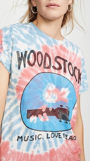MADEWORN ROCK Woodstock Tie Dye Tee