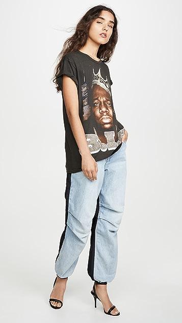 MADEWORN ROCK B.I.G T 恤