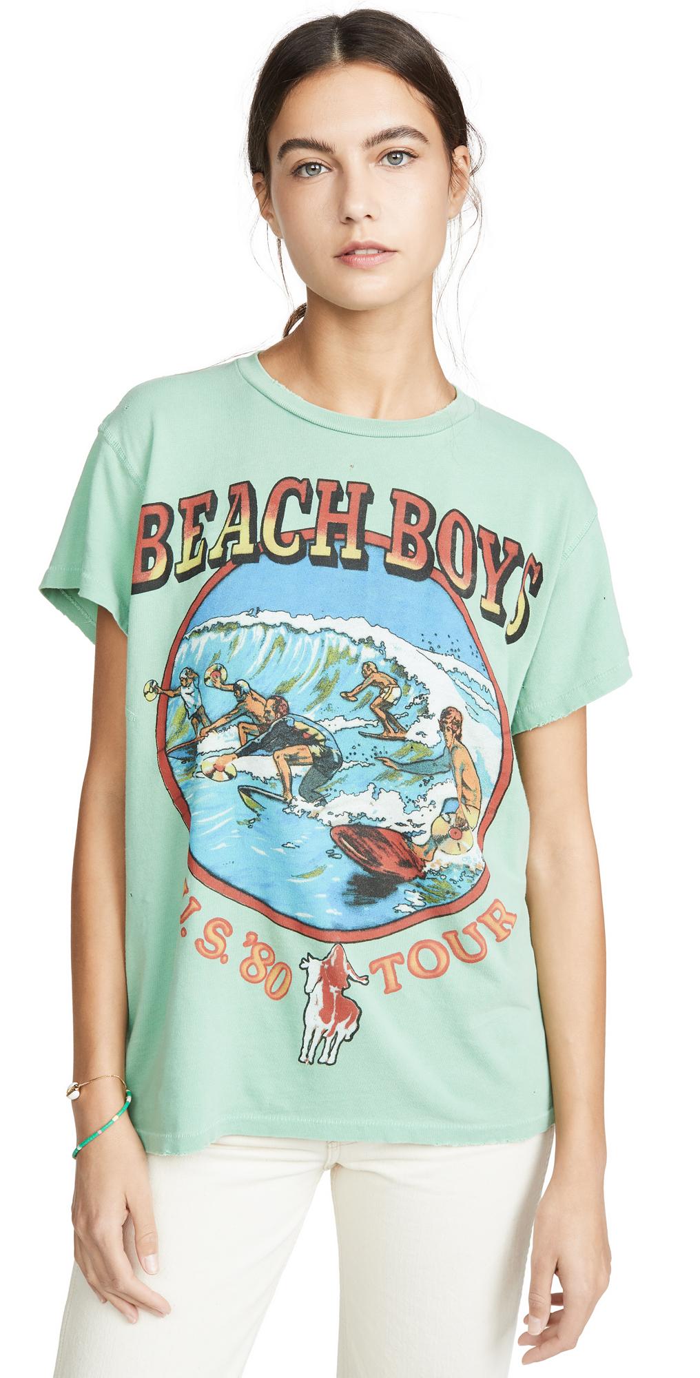MADEWORN ROCK Beach Boys Tee