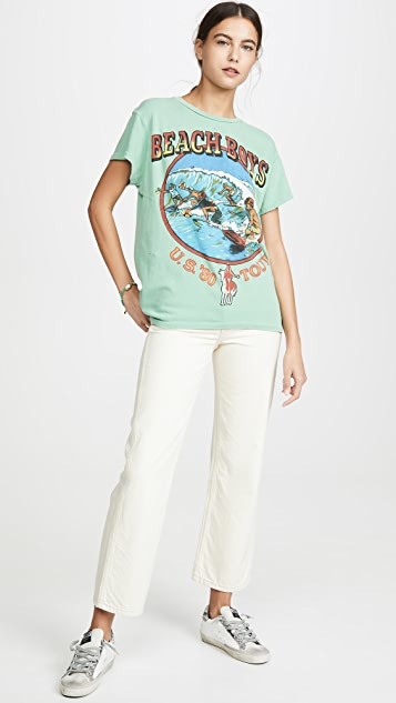 MADEWORN ROCK Beach Boys T 恤