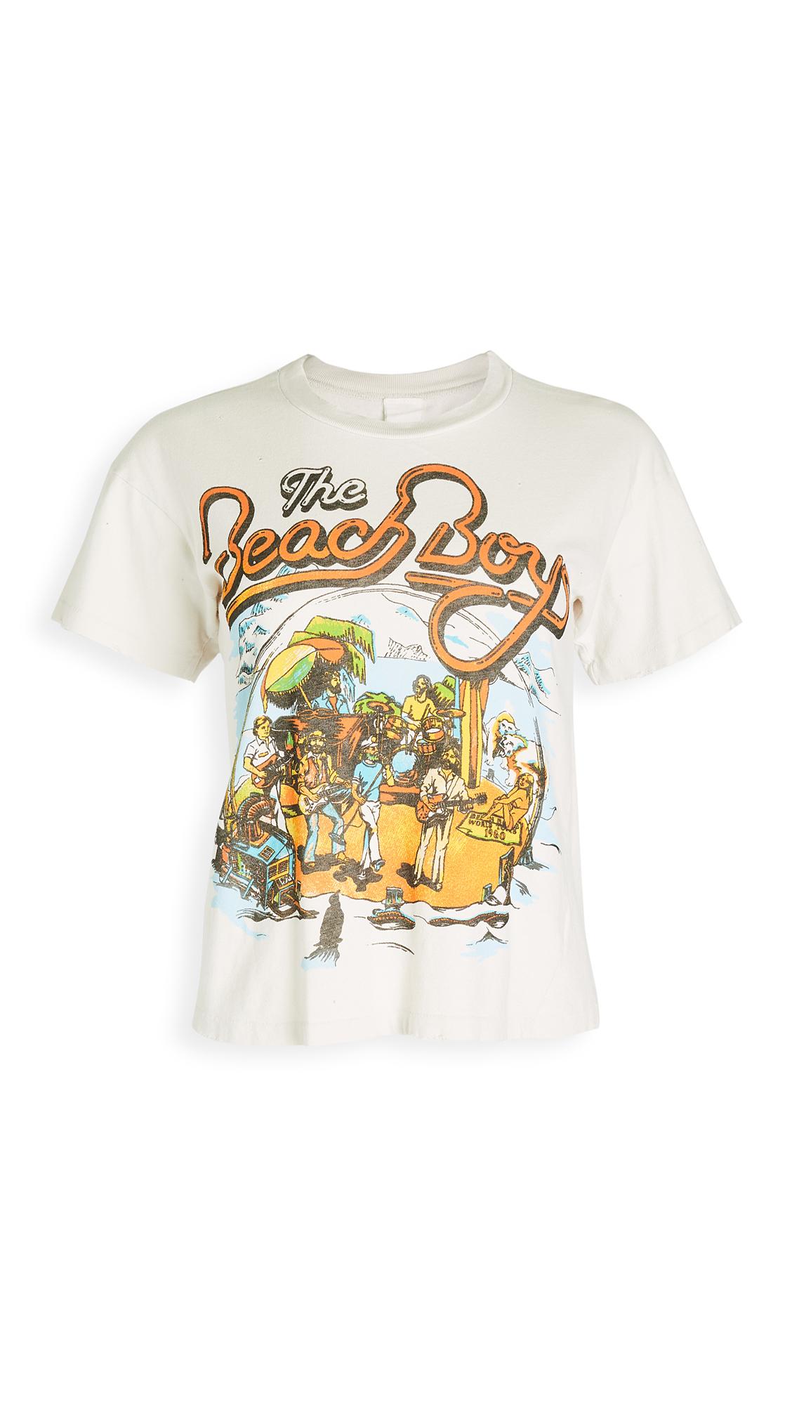 MADEWORN ROCK Beach Boys Crop Tee