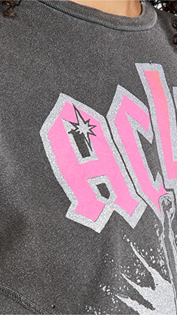 MADEWORN ROCK AC/DC T 恤