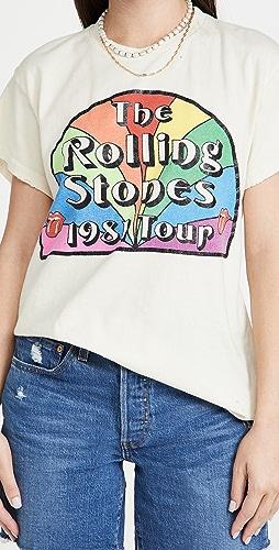 MADEWORN ROCK - Rolling Stones Rainbow Tour Tee