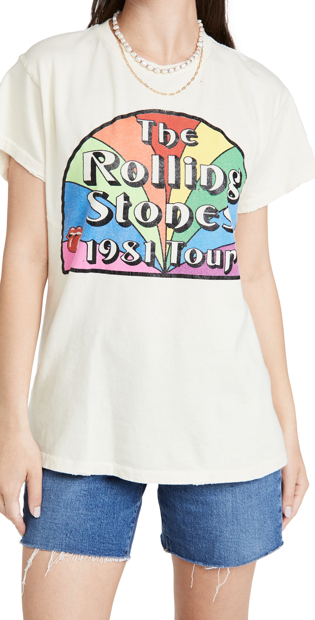Rolling Stones Rainbow Tour Tee