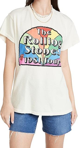 MADEWORN ROCK Rolling Stones Rainbow Tour Tee