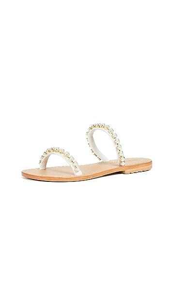 Mystique Pearl Two Strap Sandal