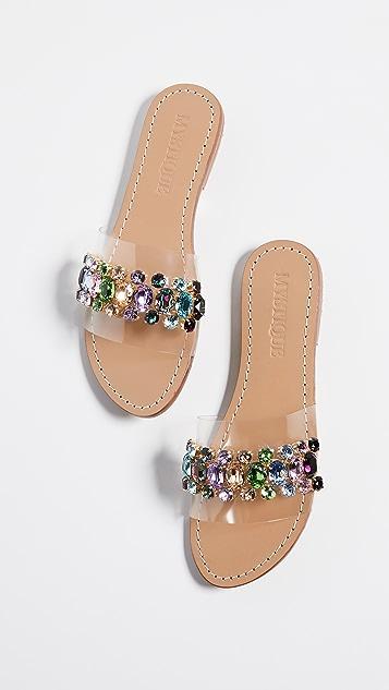 Mystique PVC Jewel Slides