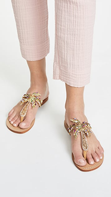 Mystique Jewel Flip Flops