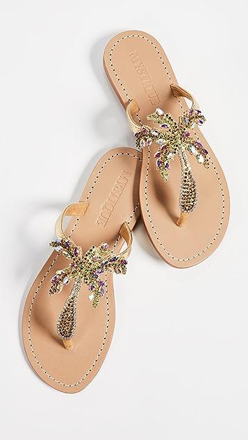 Mystique Jewel Flip Flops
