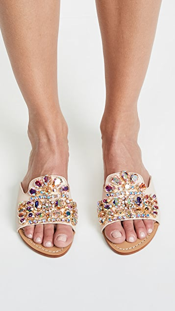 Mystique Jewel Mix Slide Sandals