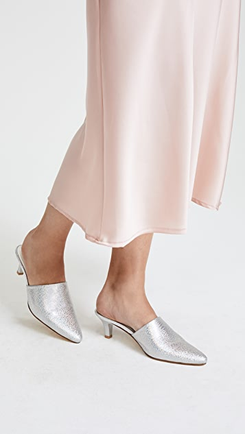 MARYAM NASSIR ZADEH Andrea leather mules Outlet With Paypal Order vSx4jy