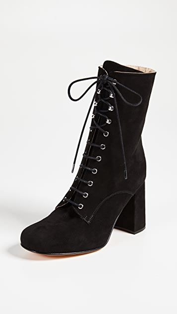 Maryam Nassir Zadeh Emmanuelle Lace Up Boots