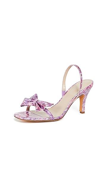 Maryam Nassir Zadeh Flora Slingback Sandals
