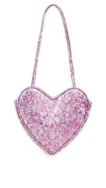 Maryam Nassir Zadeh Heart Purse