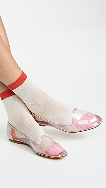 Maryam Nassir Zadeh Pascal Plastic Loafers
