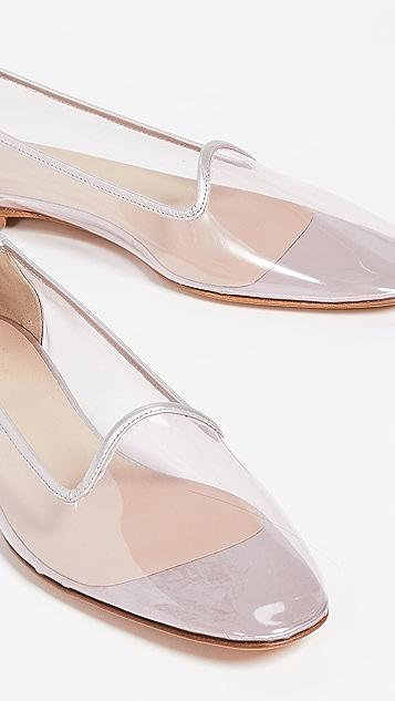 Maryam Nassir Zadeh Pascal 塑料平跟船鞋