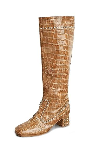 Maryam Nassir Zadeh Kiki 靴子