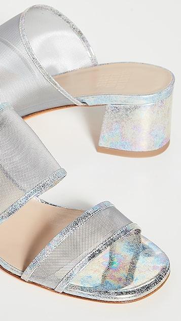 Maryam Nassir Zadeh Сетчатые сандалии без застежки Martina