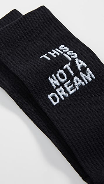 N/A This Is Not A Dream Socks