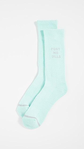 N/A Post No Bills Socks