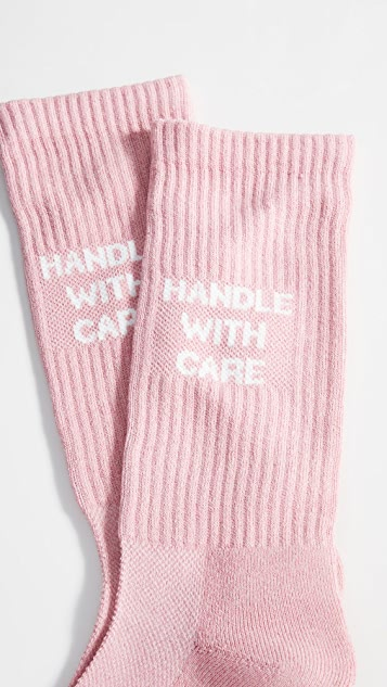 N/A Handle With Care Socks