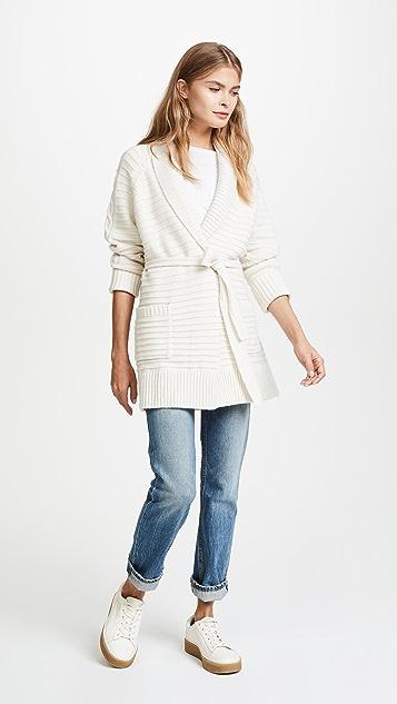 Naadam Cable Knit Cardigan