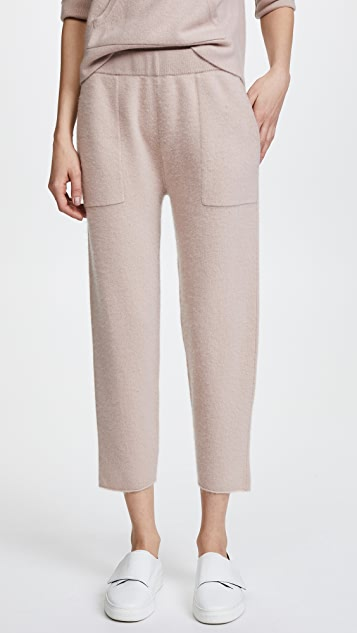 Naadam Cropped Cashmere Lounge Pants