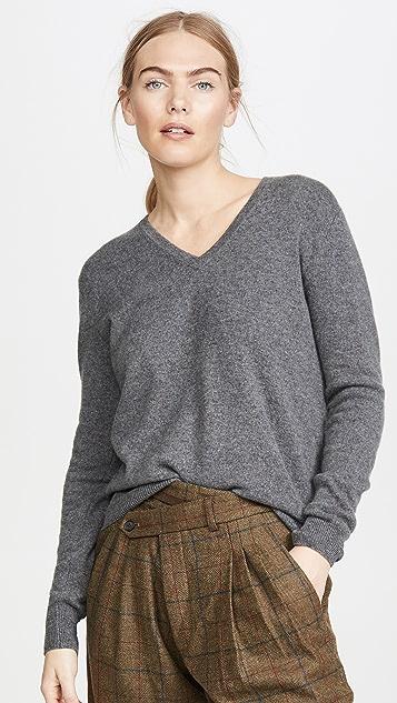 Naadam V Neck Cashmere Pullover