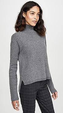 Drop Shoulder Cashmere Sweater