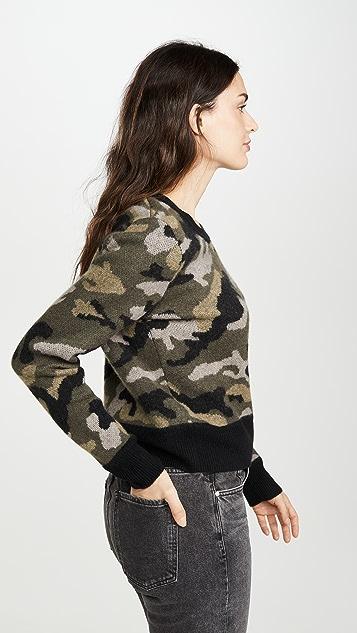 Naadam Camo Cashmere Pullover