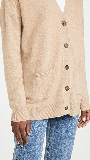 Naadam Drop Shoulder Cashmere Cardigan